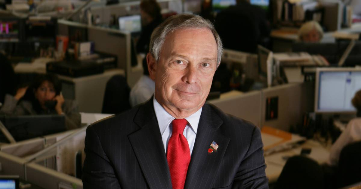 25 Richest Engineers Michael Bloomberg